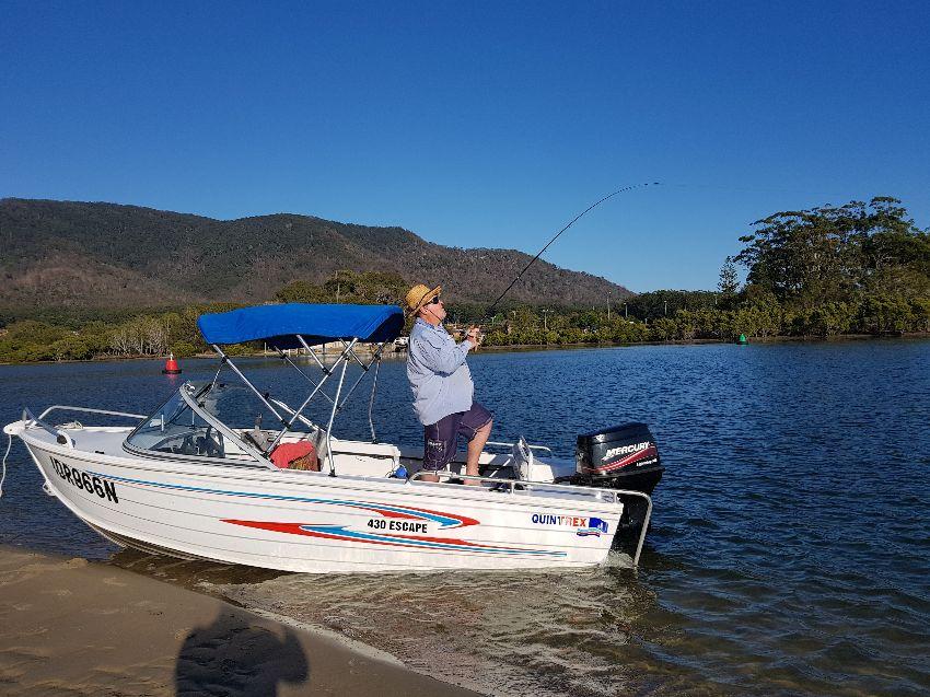 Quintrex Fishing Boat Camden